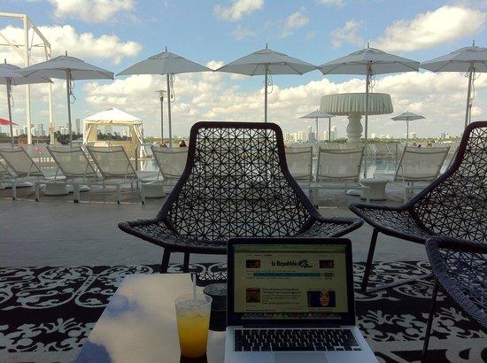 Mondrian South Beach Hotel: Relax totale