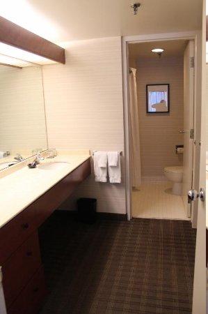 Cambridge Suites Toronto : Baño lavamanos