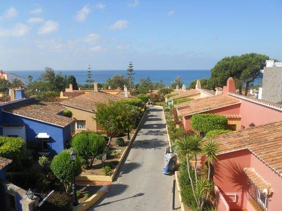 Diverhotel Marbella: Vista desde la terraza