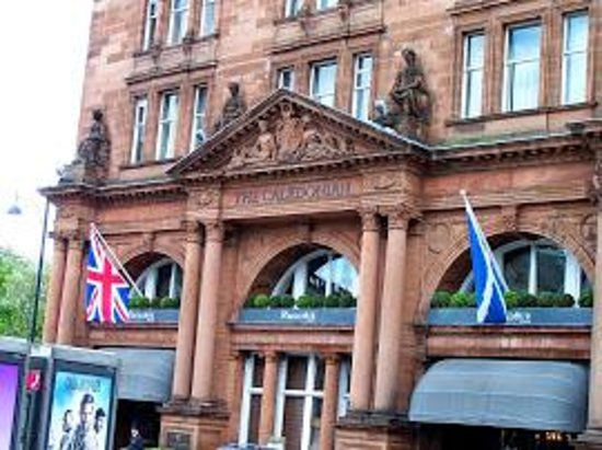 Waldorf Astoria Edinburgh - The Caledonian: The main entrance to The Caledonian