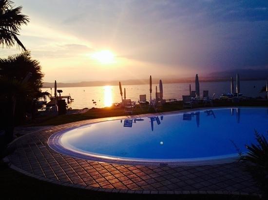 Hotel La Rondine: tramonto che dire