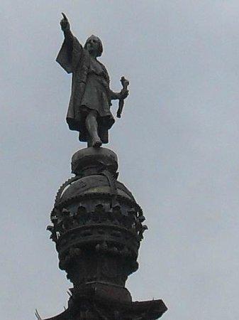 Columbus Monument : detalle