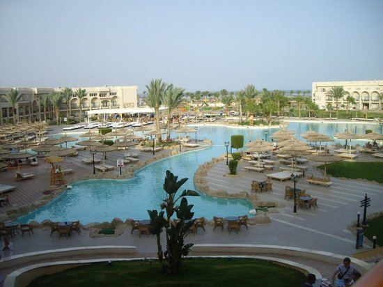 Royal Albatros Moderna Sharm el-Sheikh: view from terrace by coffe shop