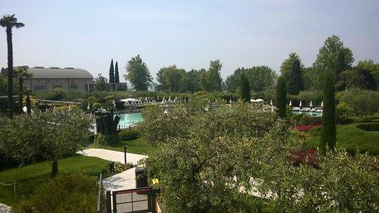 Hotel Caesius Thermae & Spa Resort : Vista dalla camera