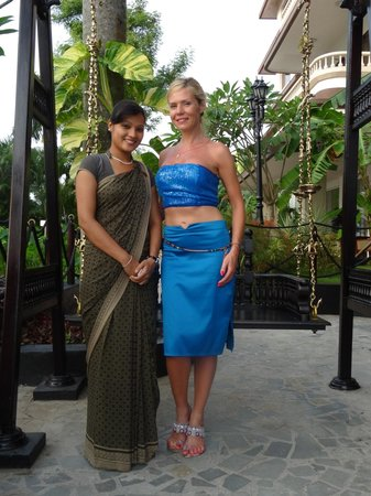 Vivanta by Taj - Malabar : thanks to this Lady and her Boss Shiju, one of the best guest relations services we made in our