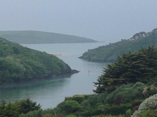 Hotel California: Crantock from our room