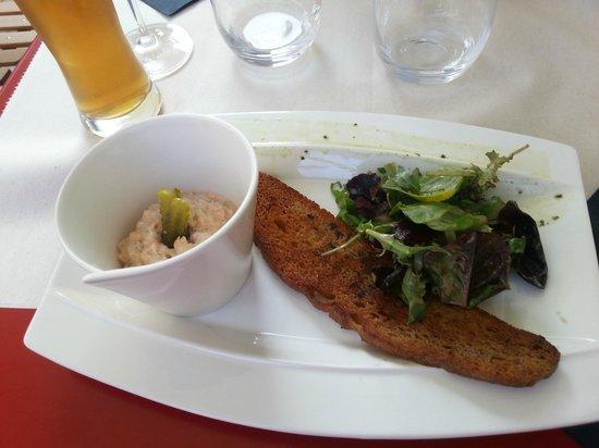 Aux Tours De La Perot (Maître Restaurateur) : Rilette au saumon