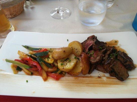 Aux Tours De La Perot (Maître Restaurateur) : Piéce du boucher