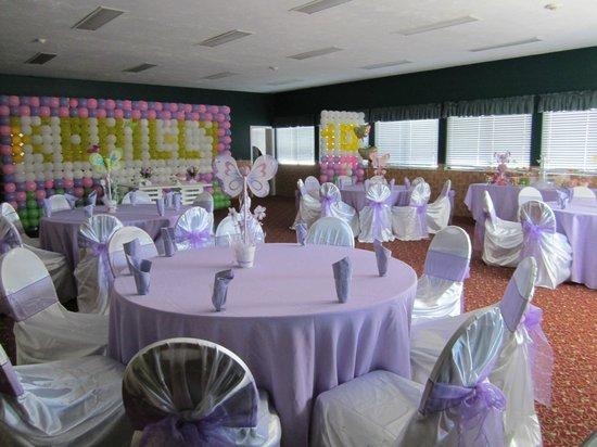 Yarmouth Resort: Function Space w/ Wedding set-up