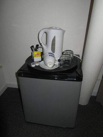 H2OTEL Rotterdam: Все для чая/кофе есть