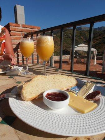 Cortijo Piltraque: Heerlijk ontbijt