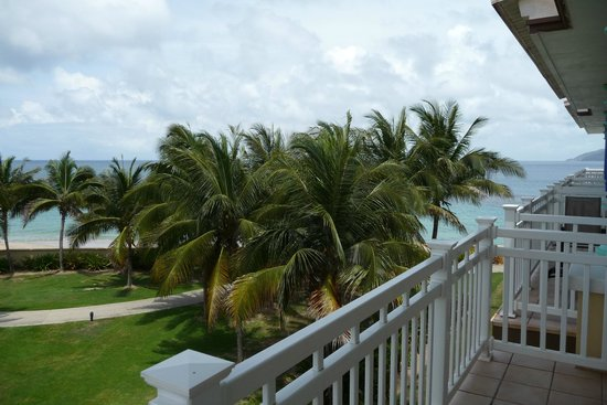 Marriott's St. Kitts Beach Club: View from 3rd floor by the beach