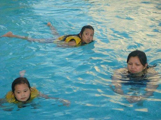 Hilton Capital Grand Abu Dhabi: my kids' happy place :)