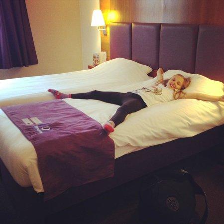 Premier Inn London Southwark (Bankside) Hotel: Comfortable bed :-)