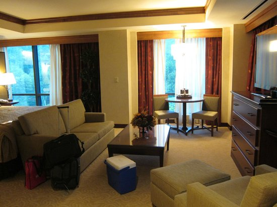 Seneca Allegany Resort & Casino : sitting area