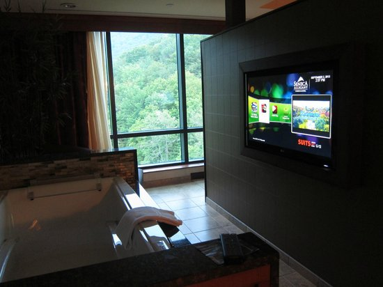 Seneca Allegany Resort & Casino : Jacuzzi
