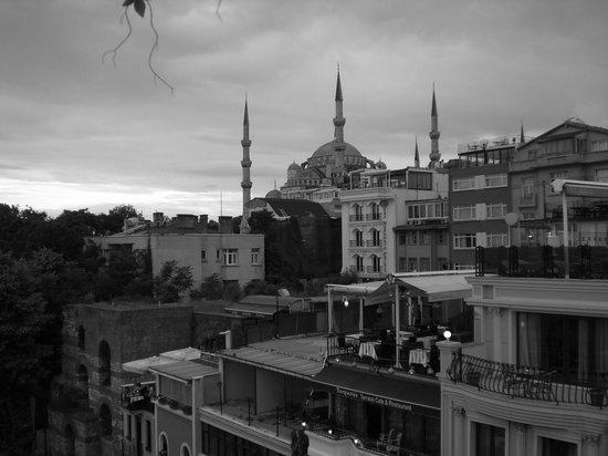 The Byzantium Hotel & Suites: vista dalla terrazza dell'Hotel Byzantium
