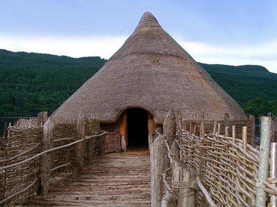 The Scottish Crannog Centre : Сюда можно зайти, купив экскурси.