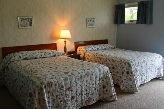 Terrace Motor Inn: Room with two double beds