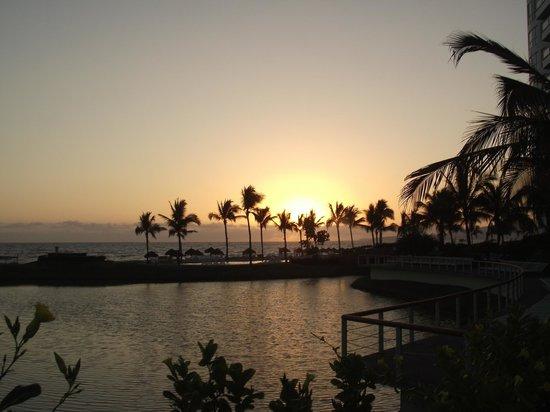 The Grand Mayan Nuevo Vallarta: sun set