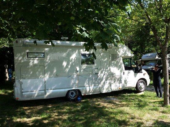 Camping River Village : La mia piazzola