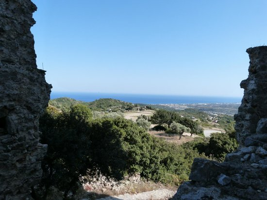 Asklipios: View from the ruins