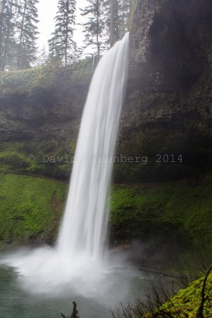 Silver Falls State Park: waterfall
