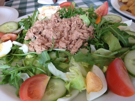 Golden Grid : tuna salad