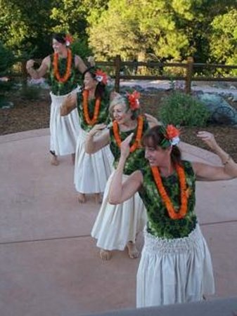 Wise Villa Winery: Our yearly Luau!