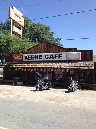 keene cafe: Front of Cafe