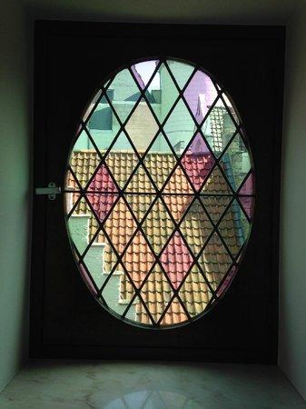 Hotel Prinsenhof Bruges: Window, room 51