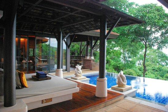 Pimalai Resort and Spa: Pool, Cabana and Living Room