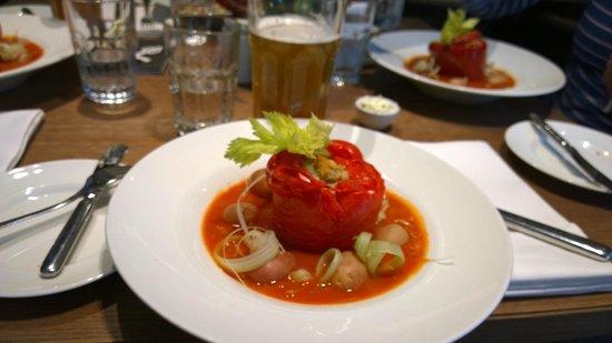 21 Hungarian Kitchen: Fylld paprika...