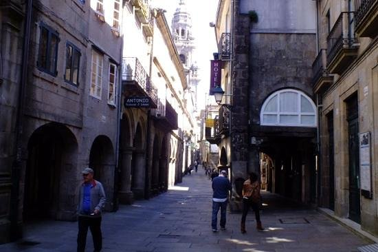 Hotel Airas Nunes, Santiago de Compostela.