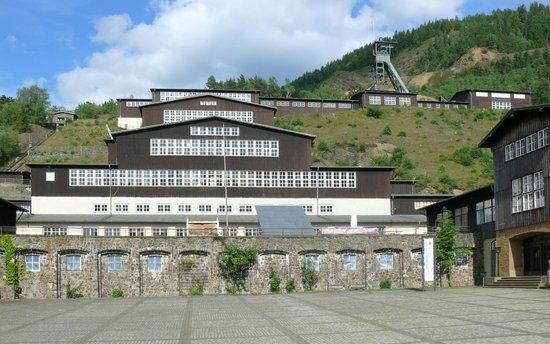 Rammelsberg Museum und Besucherbergwerk: Erzaufbereitung mit Hauptförderschacht