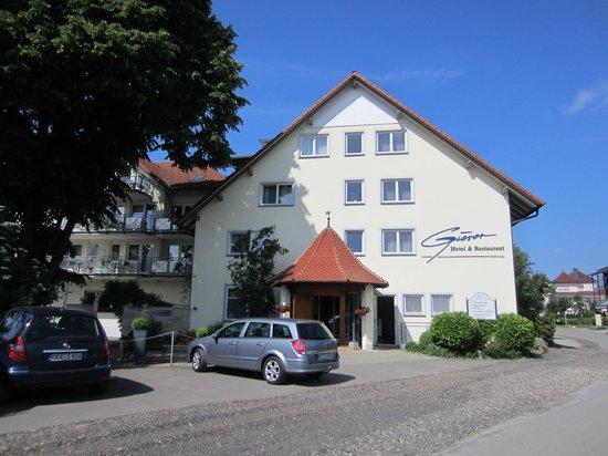 Gierer Hotel-Restaurant: Hoteleingang