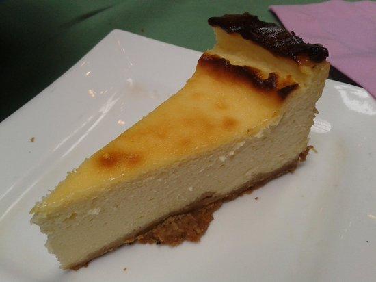 Chubascos: Tarta de queso