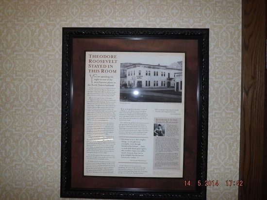 Rough Riders Hotel: Theodore Roosevelt Certificate