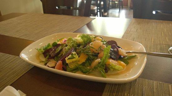 Terrafina at Hester Creek by RauDZ: Beet and Citrus salad