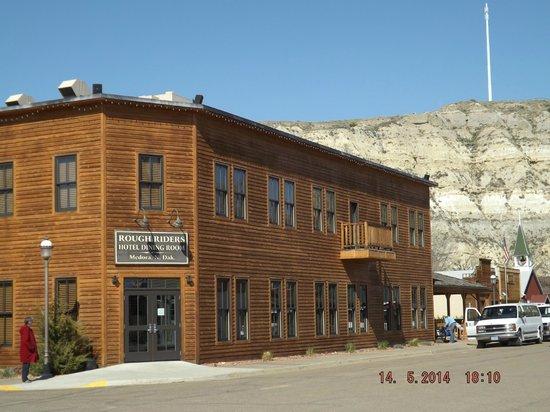 Rough Riders Hotel: Exterior of hotel