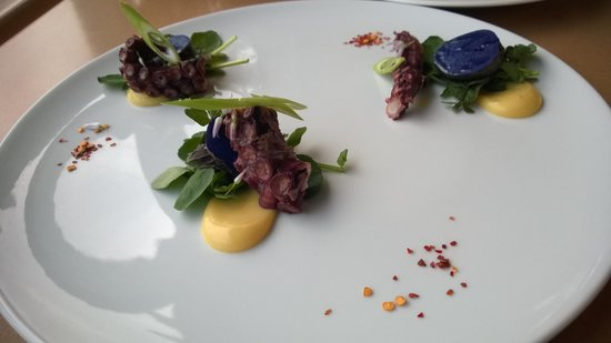 The Sonora Room: Grilled octopus starter