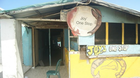 Hellshire Beach: good food sold here