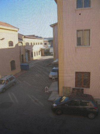 Hotel Roma Tiburtina: Vista dalla stanza