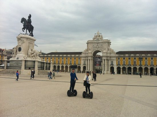 Lisbon by Segway : The Castle of Pombal (?)