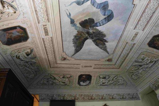 Hotel Stella Maris : Bedroom ceiling