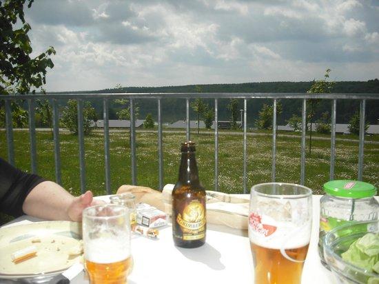 Les Cottages de ValJoly : vue du balcon