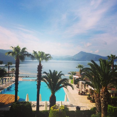 Marmaris Resort & SPA: Amazing view from room!