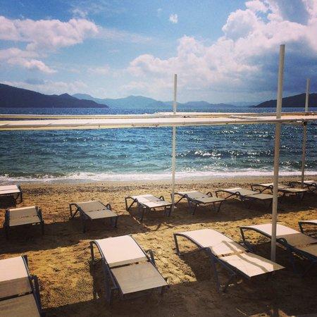 Marmaris Resort & SPA: Own little private beach.
