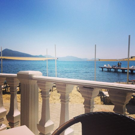 Marmaris Resort & SPA: View from the snack bar!