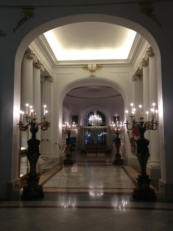 Hotel Negresco: hall